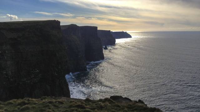 The Cliffs of Moher on the Co Clare coast