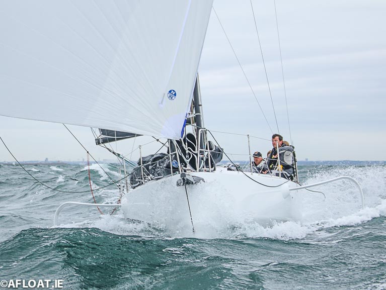 Conor Fogerty and Susan Glenny will race a foiling Figaro 3 yacht in next month's Round Ireland Race from Wicklow