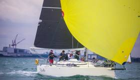 Defending champion Ruth skippered by Liam Shanahan is in third place going into the final race of the 2016 ISORA series