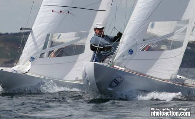 Dragons racing at Cork Week