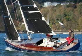 Miss Charlie (P. Beckett) is second in the March league at Kinsale