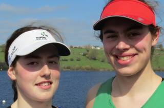 Rhiannon O'Donoghue and Molly Curry