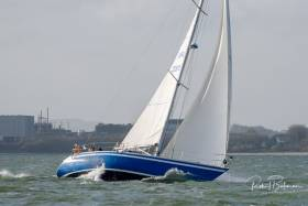 As a build up for next month' 300-miler, Blue Oyster is on her way to sail in Kinsale Yacht Club's Fastnet Race this weekend