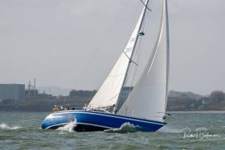 As a build up for next month' 300-miler, Blue Oysteris on her way to sail in Kinsale Yacht Club's Fastnet Race this weekend