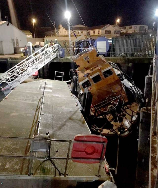 Dunmore East Lifeboat Out Of Action After Harbour Incident
