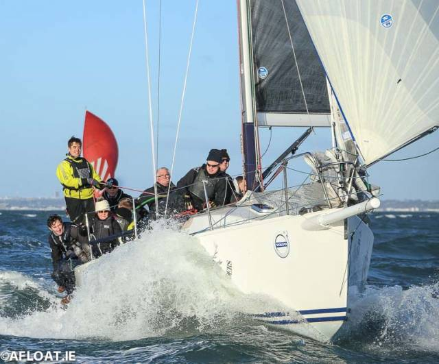 Big Breeze for DBSC Turkey Shoot's Penultimate 2018 Race on Dublin Bay