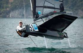 David Kenefick of Royal Cork will be in action in the Moth Worlds in Bermuda