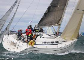 Colm Bermingham's Bite the Bullet from Howth leads White Sail 1