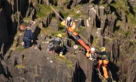 Video Of Coastguard Cliff Rescue In Dingle