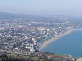 Bray in North Co Wicklow