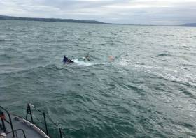 The pleasure boat was unable to be recovered