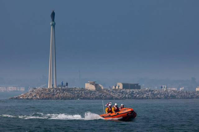 Lifeboat Rescues Three From Yacht Off Dun Laoghaire