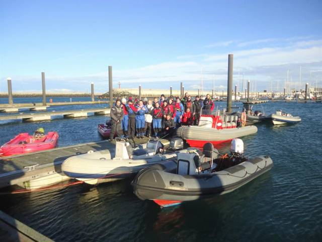 INSS Hosts Christmas Holiday Junior Powerboat Course Next Week