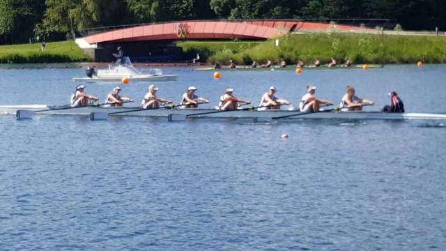 NUIG Women's Eight Impress At Metropolitan Regatta