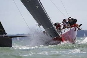 Two time Commodores' Cup winner Anthony O'Leary is aboard his turboed Ker 40, Antix for Friday's RORC Easter Challenge