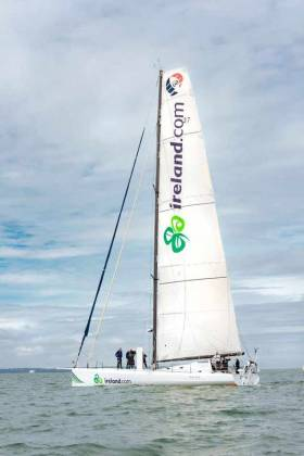 Nicholas O'Leary's Vendee Globe entry arrives into Cork Harbour