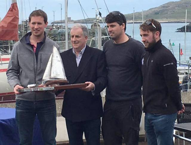 Dwyer Reigns at National 18 Easterns at Howth Yacht Club
