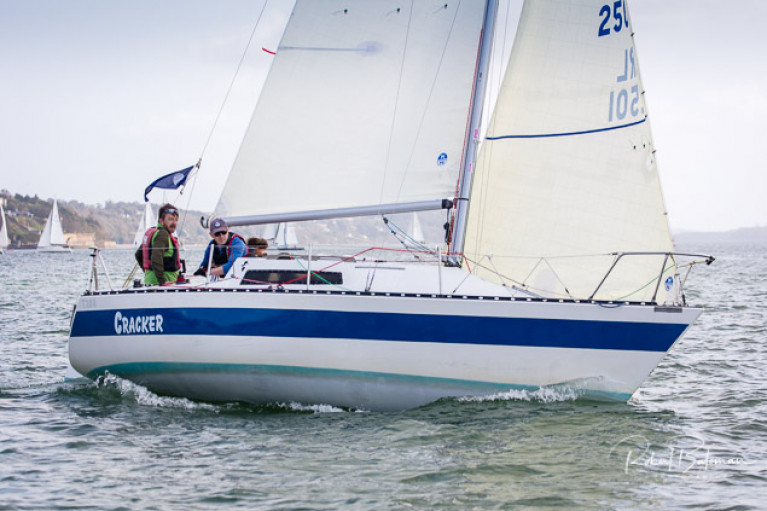 Denis Byrne's Trapper Cracker was the Moonduster Trophy winner in the 2020 Cobhh to Blackrock Race