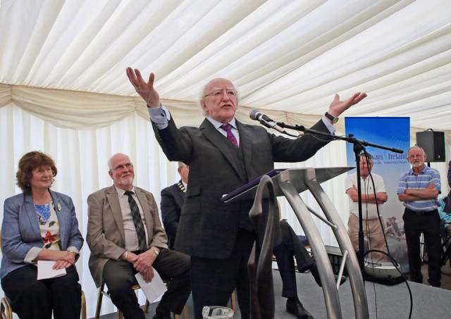 Royal Canal's 200th Anniversary Commemorated By President Higgins