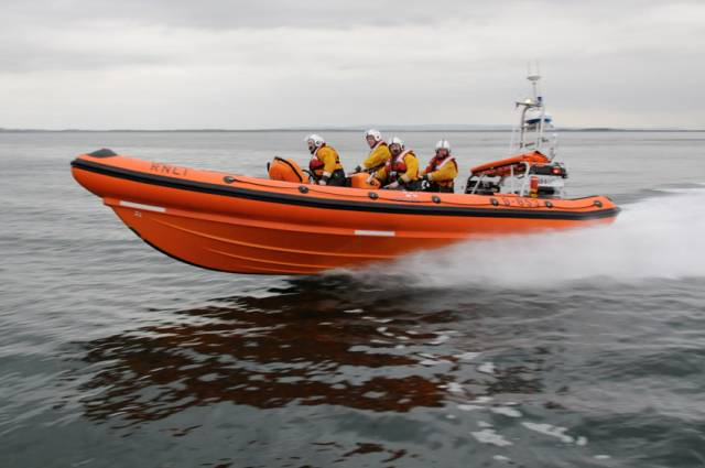 Galway Lifeboat Rescues Man After Dinghy Capsizes