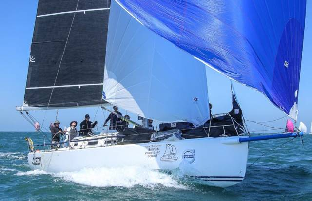 Rumball & Boyd Fêted By RORC for Round Ireland Race Rescue
