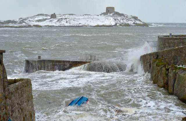 Irish Coast Guard & RNLI Issue Joint Call for Caution Around Coastal Areas & Rivers After Storm Emma