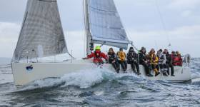 Peter Dunlop's Mojito is a leading contender in the offshore class of Volvo Dun Laoghaire Regatta