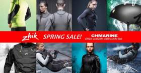 The Zhik sailing clothing sale continues at CH Marine