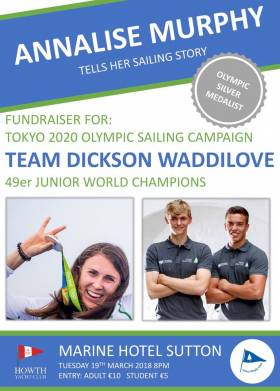 Annalise Murphy to Headline Fundraiser for Afloat.ie Sailors of the Year Dickson & Waddilove