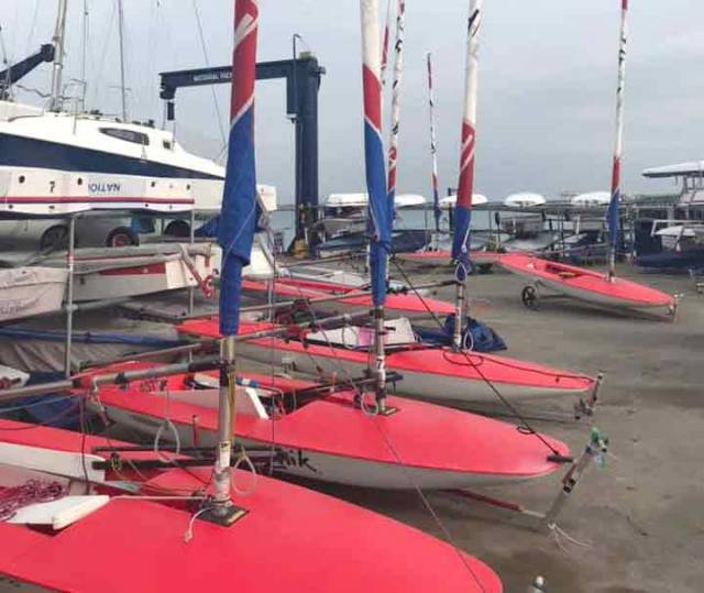Toppers ready to go afloat at the NYC