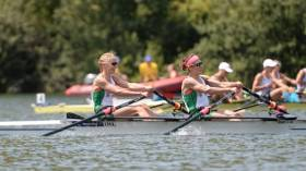 Sinead Lynch and Claire Lambe wil row in the lightweight women's double scull in Rio
