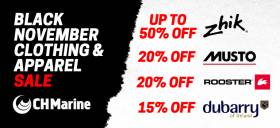 CH Marine's Black November Sale - Last Few Days!