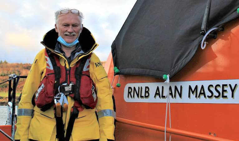 Baltimore RNLI Coxswain Kieran Cotter Retires After 45 years of Service