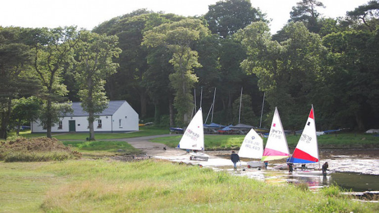 File image of Strangford Sailing Club in Strangford, Co Down