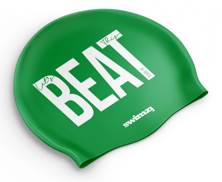 'Let's BEAT This' With Viking Marine's Swim Cap Fundraiser For Frontline Health Workers
