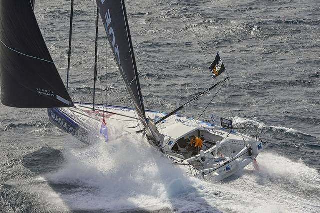 Photo–Finish for Vendée Globe Predicted, Le Cléac'h & Thomson Separated By Only 78 Miles