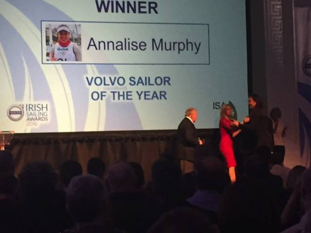 Olympic Silver Medallist Annalise Murphy Is Irish Sailor Of The Year 2016 (Updated with Photo Gallery)
