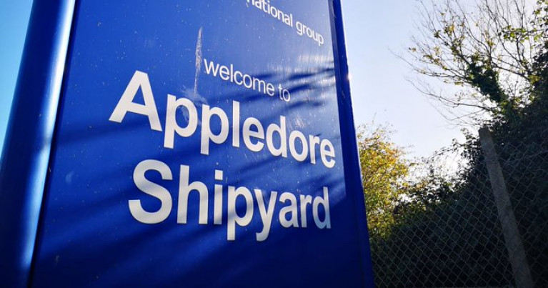 Work has continued ever since to reopen the historic UK Appledore shipyard (Afloat adds which built its last vessel in 2018 for the Irish Naval Service), but as of yet, no date for any reopening has been announced.