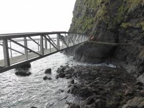 The Gobbins coastal path reopens this weekend after significant storm-damage repairs