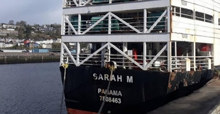 Livestock Ship Due to Sail from Port of Waterford to Africa Before End of the Week