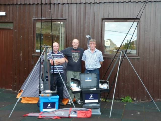 Ian Daly, Jim O'Brien and Peter O'Reilly from Wicklow Travellers Group are part of the Fishing Futures angling project