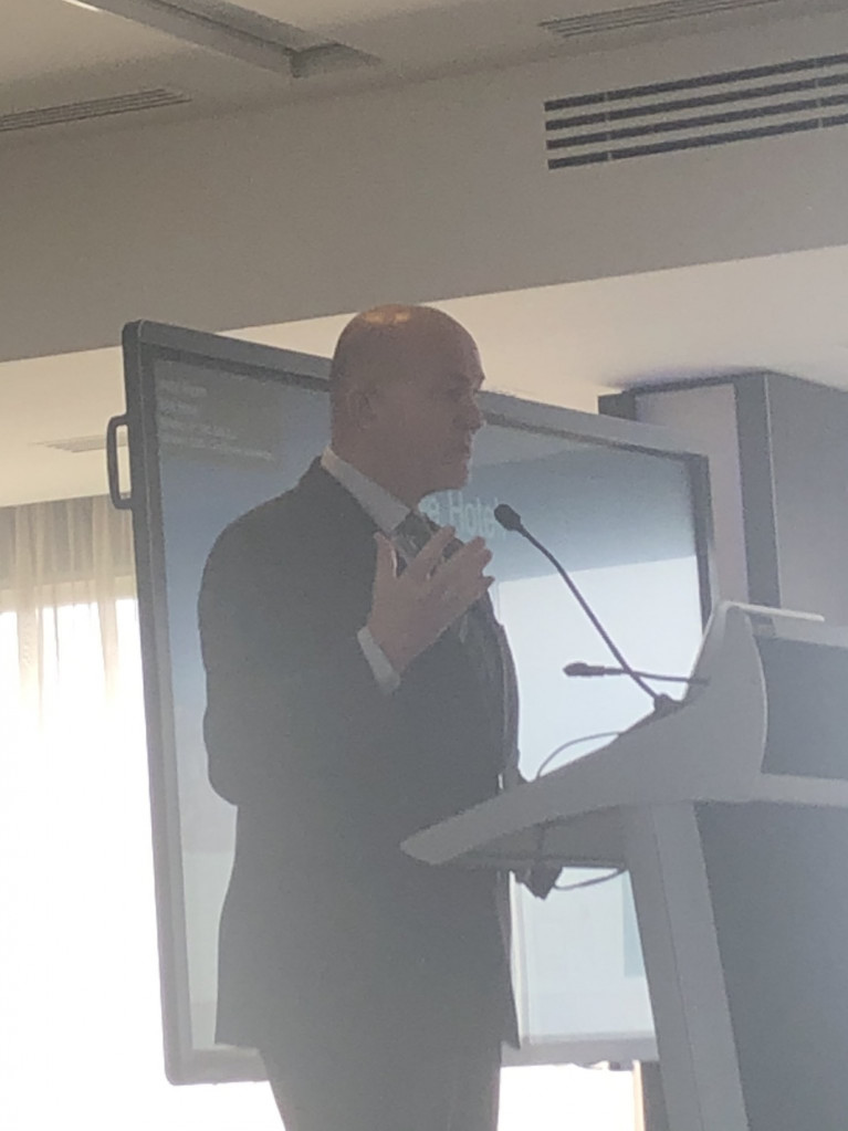 "Speaking at the European Shipping Week (ESW2020) conference the ESPO Chairman Eamonn O'Reilly: ""As ports we should not get in the way of shipping and innovation. we need a goal based approach."""