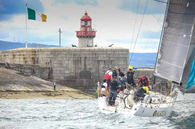 Dun Laoghaire–based J/122 Aurelia skippered by Chris Power Smith is one of 27 entries so far for the 2018 Volvo Round Ireland