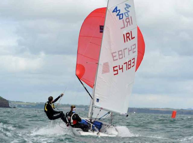 The upcoming RYA Youth Nationals also saw 420s training under the RYA Open Pathway training in Northern Ireland