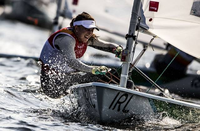 Annalise was fifth in Race five of the Rio Olympics