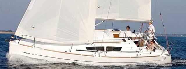 A classic for our times – the stylish Jeanneau Sun Odyssey 33i is keen to sail.
