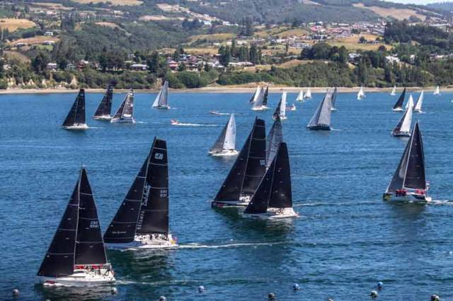The biennial Regata Chiloe is one of Chile's most important regattas