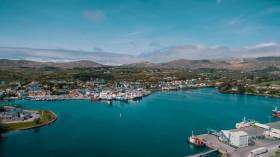 The fishing port of Castletownbere in County Cork