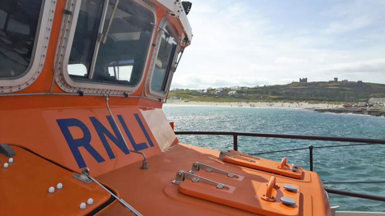 File image of Aran Islands RNLI's Severn class lifeboat
