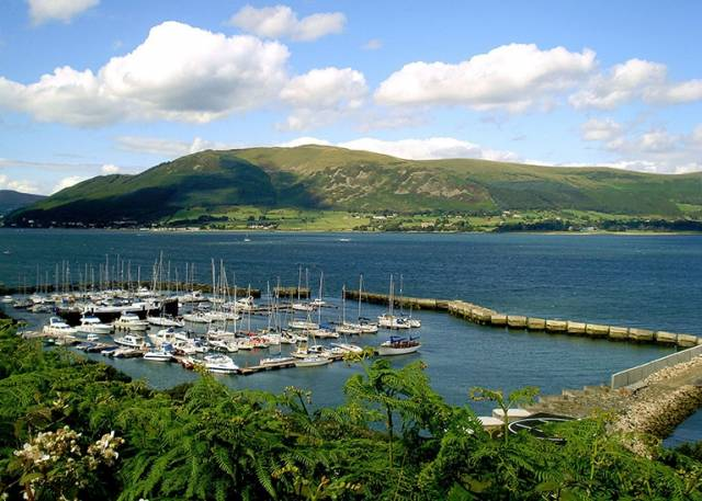 Carlingford marina in Co Louth is a day's sail from Dublin, Belfast, The Isle of Man and some parts of England's west coast